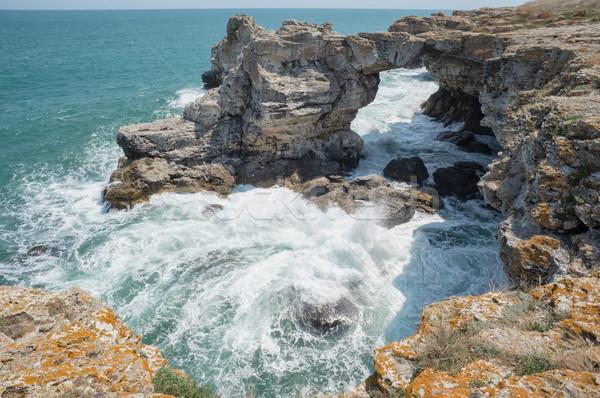 Rocks Shore Sea Ocean Stock photo © vilevi