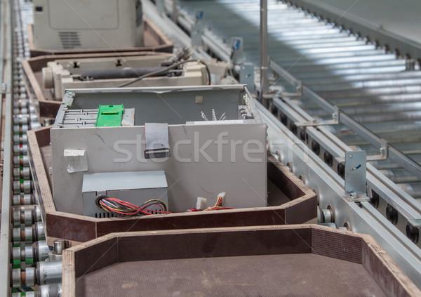 Old Scrap Recycling Computer Stock photo © vilevi