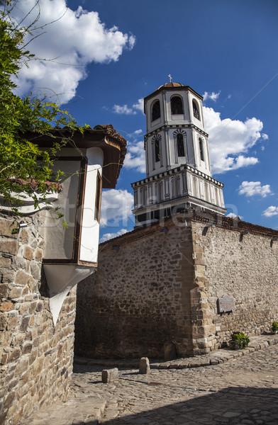 Cupola città vecchia Bulgaria verticale immagine chiesa Foto d'archivio © vilevi