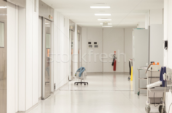 Hospital Surgeries Corridor Stock photo © vilevi