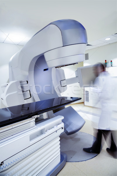 Stok fotoğraf: Hastane · xray · doğrusal · tomografi · makine · bulanık
