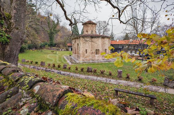 Monasterio Bulgaria ortodoxo ciudad Foto stock © vilevi