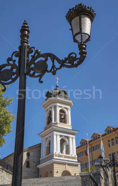 Szűz templom napos nyár nap kilátás Stock fotó © vilevi