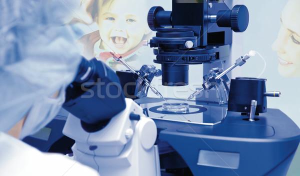 artificial insemination Stock photo © vilevi
