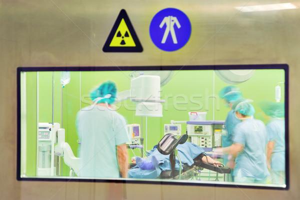 Modern Urology Surgery Hospital Stock photo © vilevi