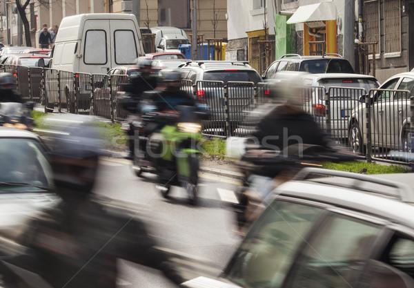 city traffic street Stock photo © vilevi