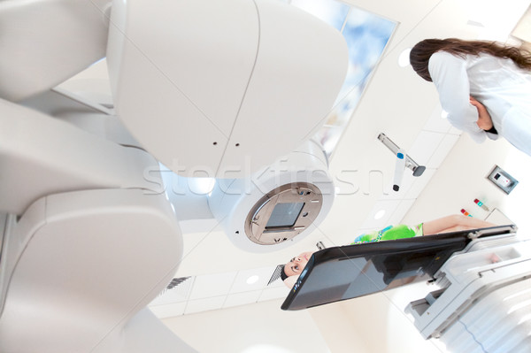 Hospital oncology scanner x-ray Stock photo © vilevi