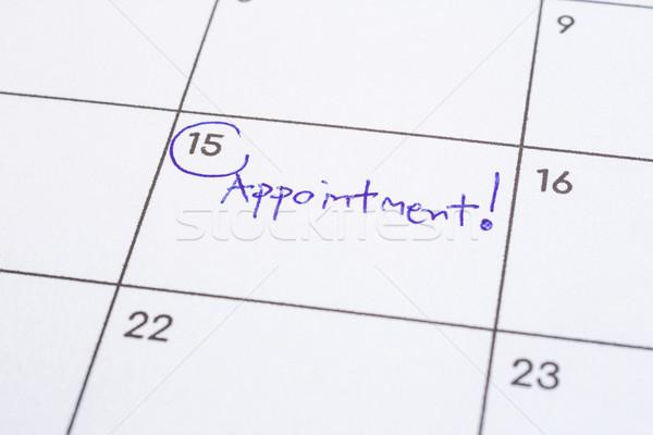 Evento día palabra nombramiento calendario Foto stock © vinnstock