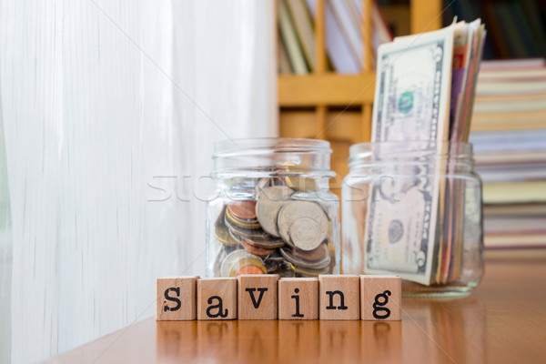 Money saving and Extra income Stock photo © vinnstock