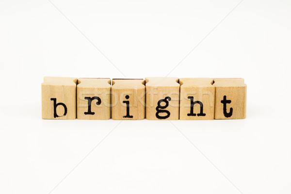 Parlak beyaz ışık arka plan Stok fotoğraf © vinnstock