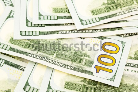 new edition 100 dollar banknotes, currency for investment and bu Stock photo © vinnstock
