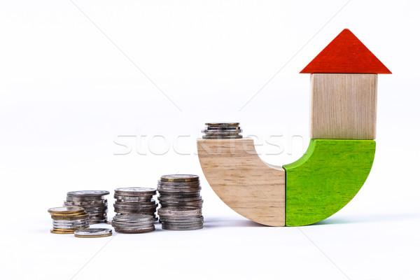 money and house Stock photo © vinnstock