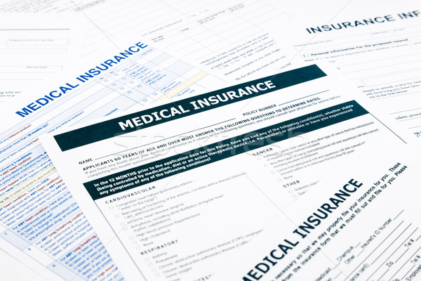 medical insurance form, Stock photo © vinnstock