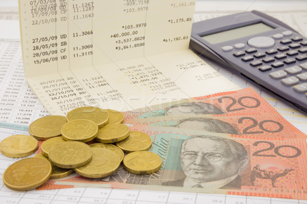currency and paper money of Australia Stock photo © vinnstock