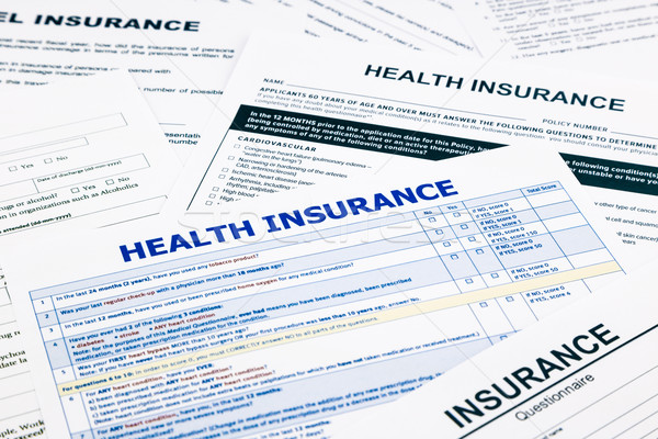 health insurance form Stock photo © vinnstock