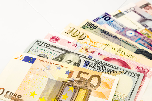 world currency banknotes  Stock photo © vinnstock