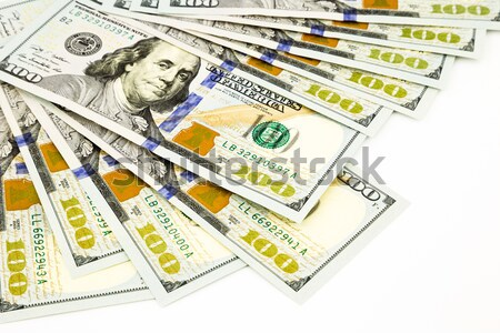 new edition 100 dollar banknotes, money for property and wealth  Stock photo © vinnstock