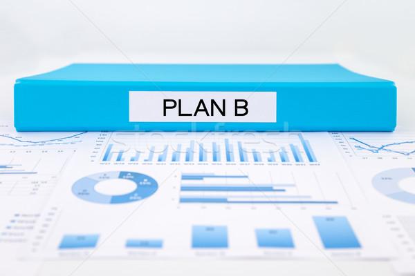 Iş plan grafikler çözüm proje Stok fotoğraf © vinnstock