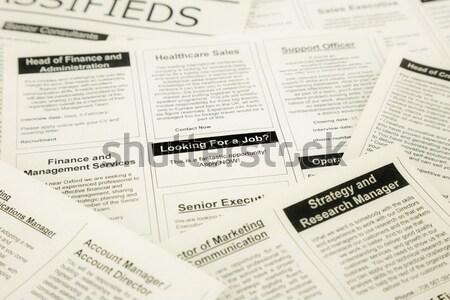 job hiring Stock photo © vinnstock