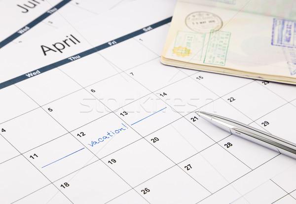 Vacation planning Stock photo © vinnstock