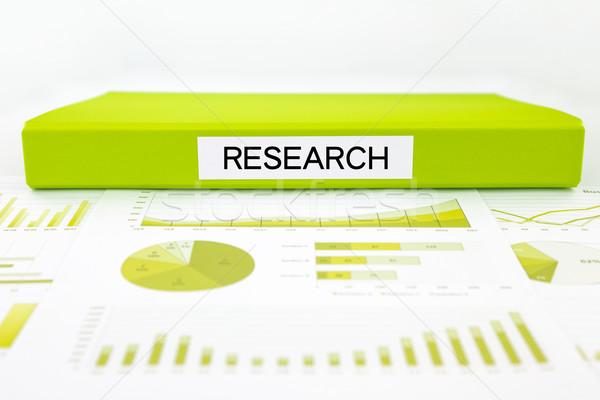 Ricerca documenti grafici dati analisi business Foto d'archivio © vinnstock