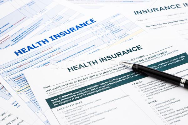 health insurance form Stock photo © vinnstock