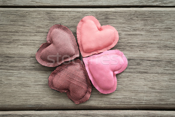 Shades of pink happy love valentine hearts Stock photo © vinnstock