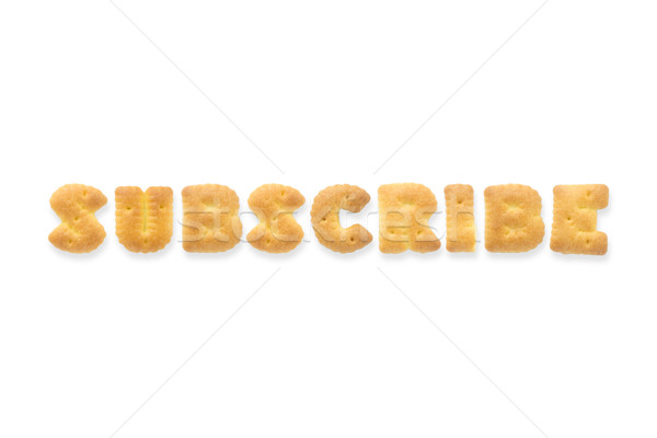 The Letter Word SUBSCRIBE Alphabet  Cookie Cracker Stock photo © vinnstock
