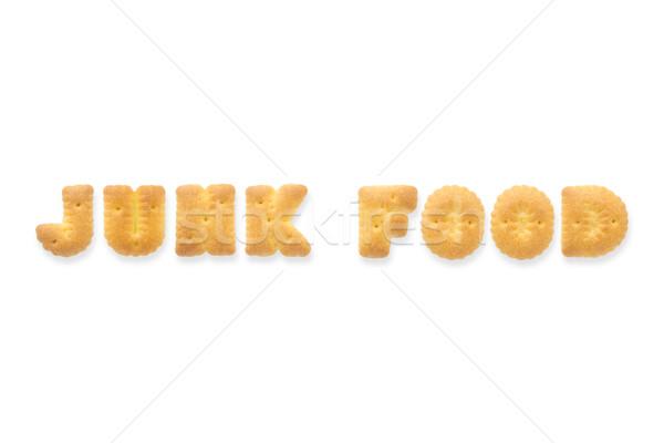 List słowo alfabet cookie kolaż Zdjęcia stock © vinnstock