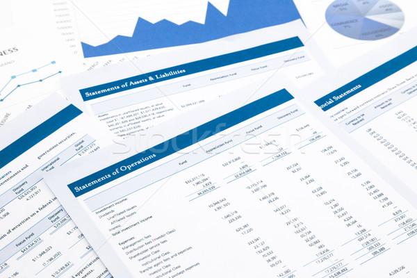 statements of operations Stock photo © vinnstock