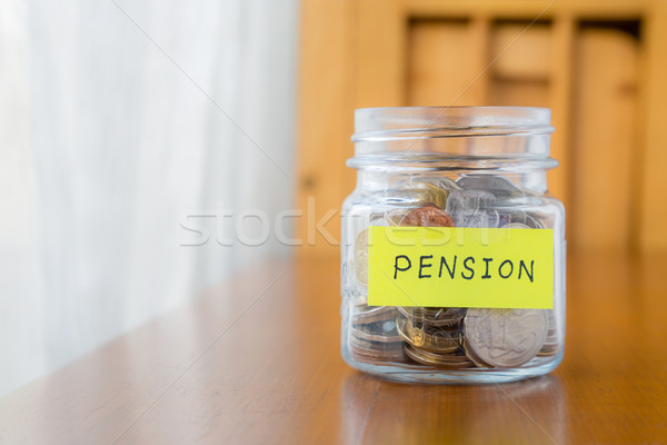 Pension and retirement income Stock photo © vinnstock
