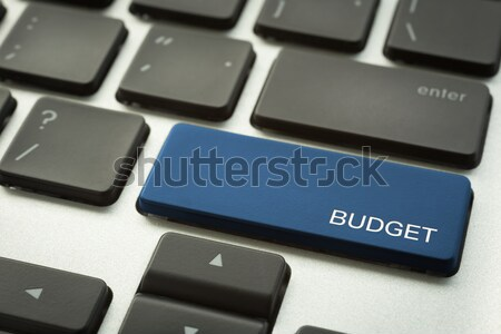 Laptop keyboard with typographic AFFILIATE MARKETING button Stock photo © vinnstock