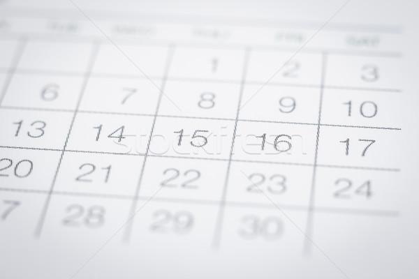 Blurred calendar background minimal style.  Stock photo © vinnstock