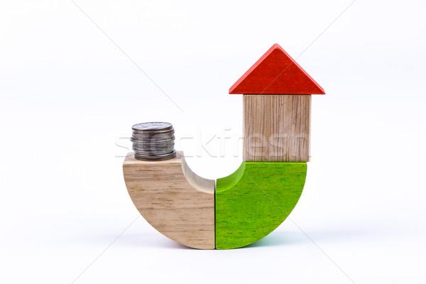 saving for house Stock photo © vinnstock