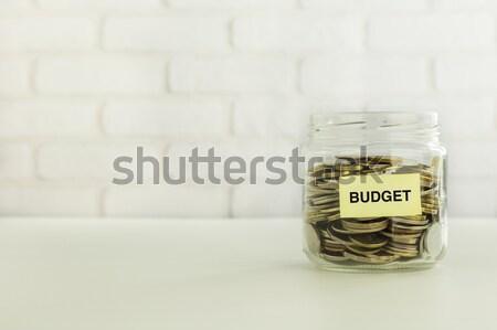 Business belasting besparing financiële voorbereiding Geel Stockfoto © vinnstock