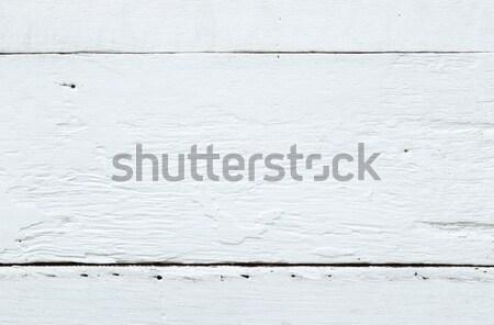 Witte vintage houten tafel textuur oppervlak ruw Stockfoto © vinnstock