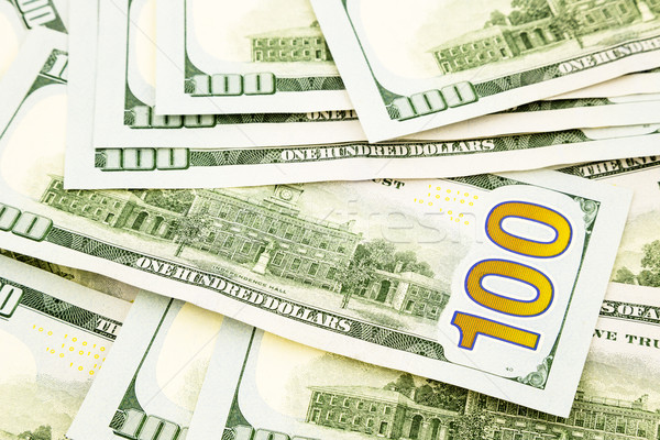 new edition 100 dollar banknotes, money  for credit  and benefit Stock photo © vinnstock