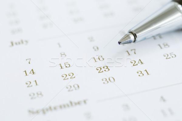 видение планирования timeline календаря бизнеса управления Сток-фото © vinnstock