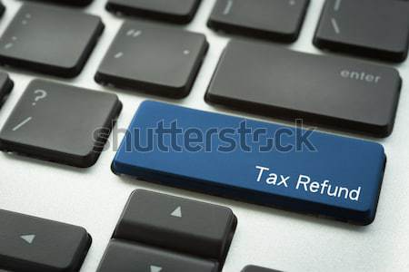 Laptop keyboard with typographic E-LEARNING button Stock photo © vinnstock