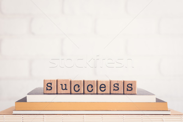 The word Success and copy space background. Stock photo © vinnstock
