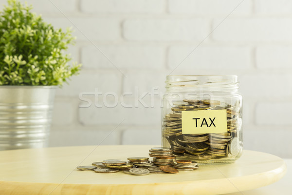 Tax refund planning for  saving money Stock photo © vinnstock