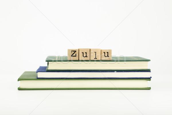 zulu Stock photo © vinnstock