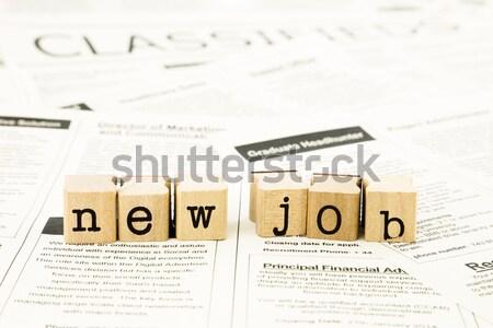 книга занятость бизнеса Сток-фото © vinnstock