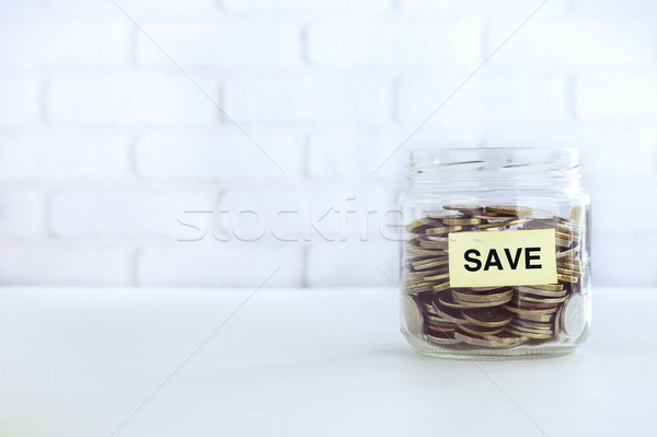 Business strategies save money vintage style Stock photo © vinnstock