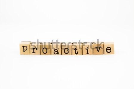 quality wording isolate on white background Stock photo © vinnstock