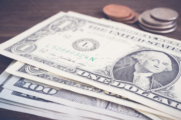 通貨 お金 コイン ドル ヴィンテージ スタイル ストックフォト © vinnstock