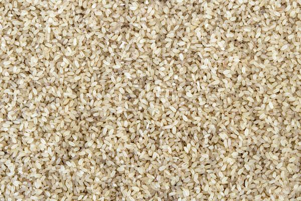 Riz alimentaire saine céréales brun organique Photo stock © vinodpillai