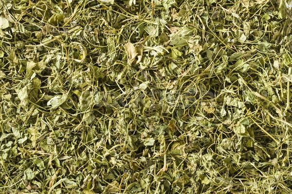 Kasuri Methi (dried fenugreek leaves) Stock photo © vinodpillai