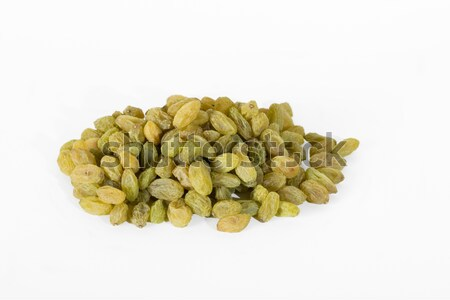 Green raisins on white Stock photo © vinodpillai
