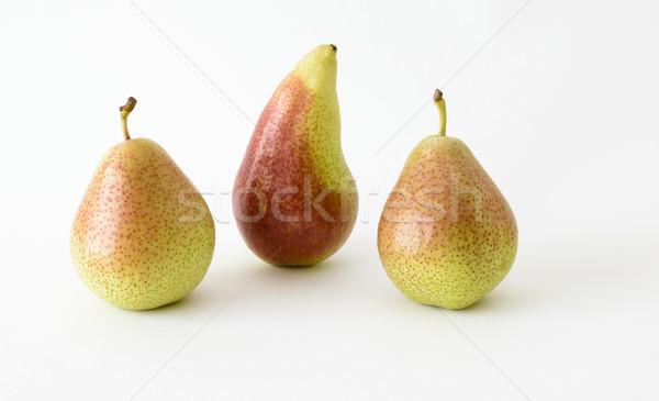 Three Pears on white Stock photo © vinodpillai